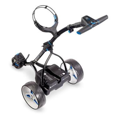 Motocaddy S5 Connect Cart Standard Lithium Battery  Black