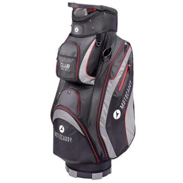 Motocaddy Club Series Cart Bag  Black/Red