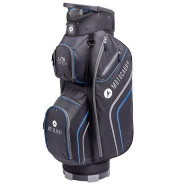 Motocaddy Lite Series Cart Bag Black - Blue