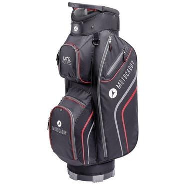 Motocaddy Lite Series Cart Bag  Black/Red