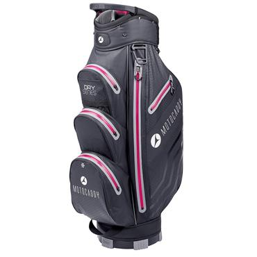 Motocaddy Dry Series Cart Bag Black - Fuchsia