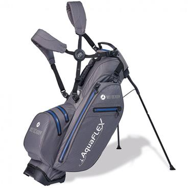 Motocaddy Aquaflex Stand Bag  Charcoal/Blue