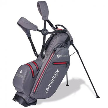 Motocaddy Aquaflex Stand Bag  Charcoal/Red