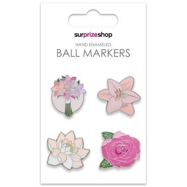 Surprizeshop Ball Marker Set  Flower