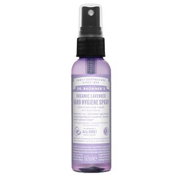 Dr Bronner Organic Hand Sanitizer 59ml  Lavender