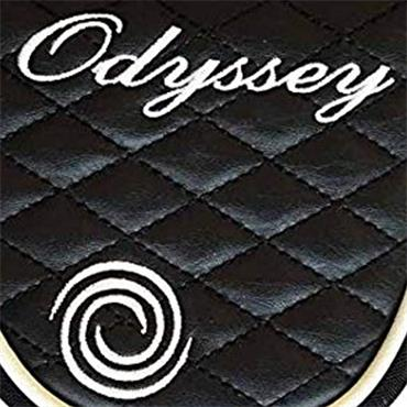 Odyssey Ladies Quilted Putter Headcover Black Mallet