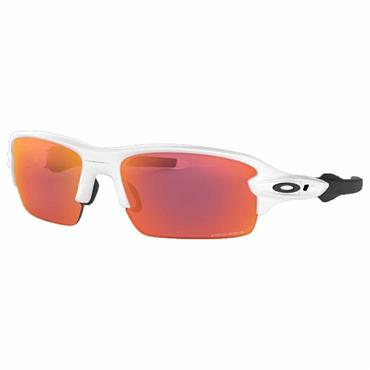 Oakley Flax XS PRIZM Glasses  Polished White