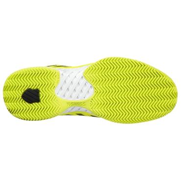 K-Swiss Gents HyperCourt Express HB Tennis Shoes Neon Yellow - White - Black