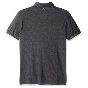 J.Lindeberg Gents Tour Tech Regular TX Jersey Polo Shirt Grey