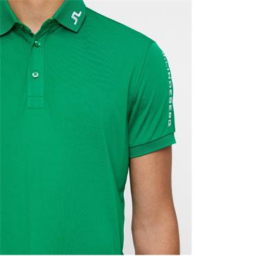 J.Lindeberg Gents Tour Tech Regular TX Jersey Polo Shirt Green