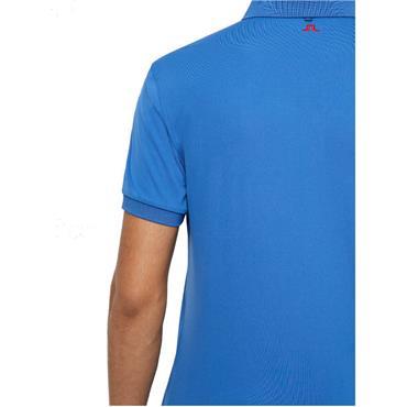 J.Lindeberg Gents Tour Tech Regular TX Jersey Polo Shirt Blue