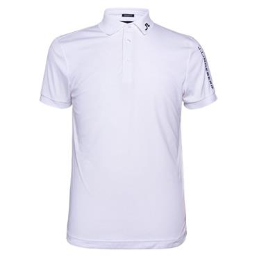 J.Lindeberg Gents Tour Tech Regular TX Jersey Polo Shirt White