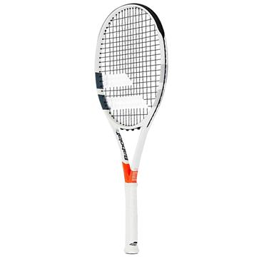 Babolat Tennis Pure Strike 100 Racket White - Red