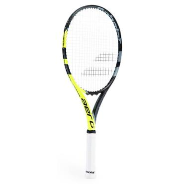 Babolat Tennis Aero G Racket Black - Yellow - Grey