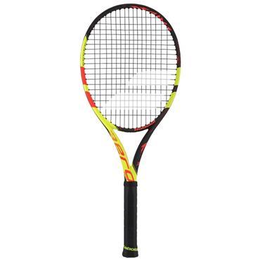 Babolat Gents 2018 Pure Aero Decima Tennis Racket Black - Red - Yellow