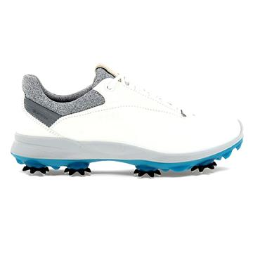 Ecco Ladies Biom G3 Shoes White - Aqua
