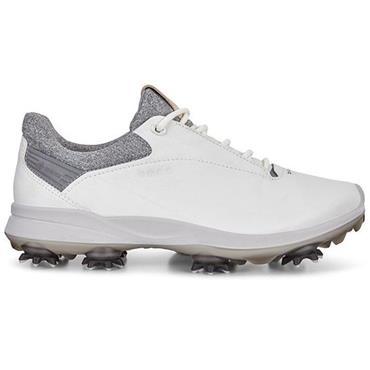 Ecco Ladies Biom G3 Shoes White - Grey