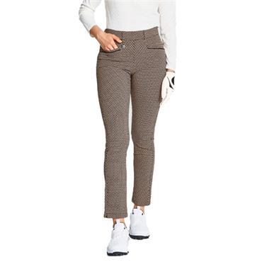 Rohnisch Smooth Pants Beige - Black Check
