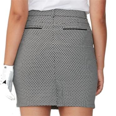 Rohnisch Smooth Skort Black - White