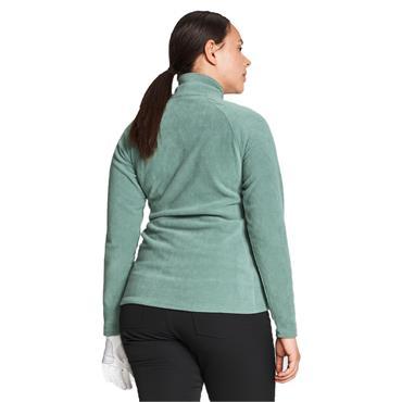 Rohnisch Ladies Fleece ½ Zip Top Lily Pad