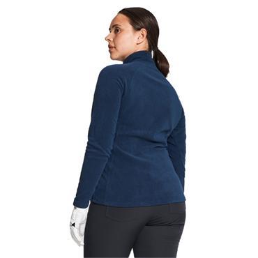 Rohnisch Ladies Fleece ½ Zip Top Navy