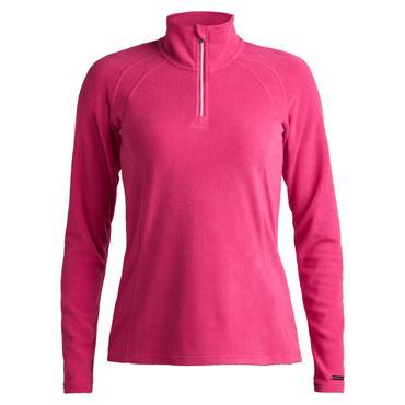 Rohnisch Ladies Fleece ½ Zip Top Raspberry