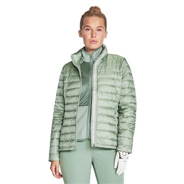 Rohnisch Ladies Shine Light Down Jacket Lily Pad