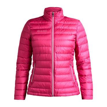 Rohnisch Ladies Shine Light Down Jacket Raspberry