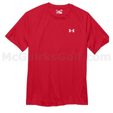 Under Armour Gents Tech Short-Sleeve T-Shirt Red