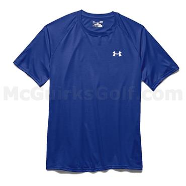 Under Armour Gents Tech Short-Sleeve T-Shirt Royal
