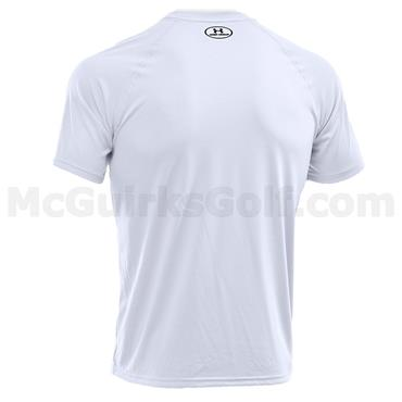 Under Armour Gym Gents Tech Short Sleeve Shirt White