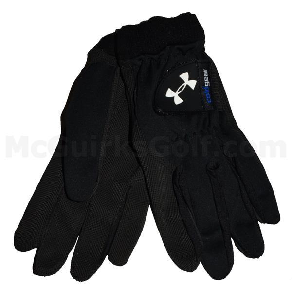 beste goedkoop populair merk nieuwe release Under Armour Gents ColdGear Golf Gloves Black