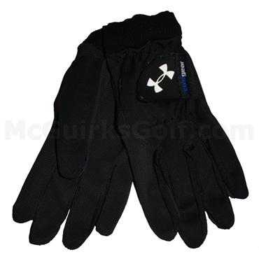 Under Armour Gents ColdGear Golf Gloves Black