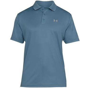 Under Armour Gents Performance Polo Shirt Blue
