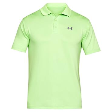 Under Armour Gents Performance Polo Shirt Lumos Green