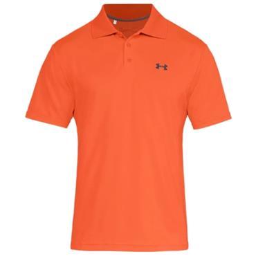 Under Armour Gents Performance Polo Shirt Orange