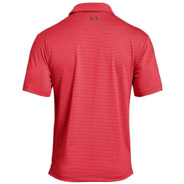 Under Armour Gents Playoff Polo Shirt Grey - Coral