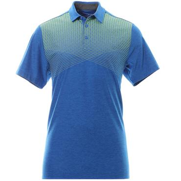 Under Armour Gents Playoff Polo Shirt Mediterranean - Rhino Grey