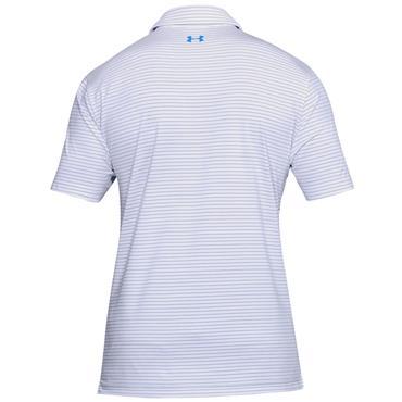 Under Armour Gents Playoff Polo Shirt White - Mediterranean