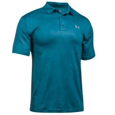 Under Armour Gents Playoff Polo Shirt Bayou Blue
