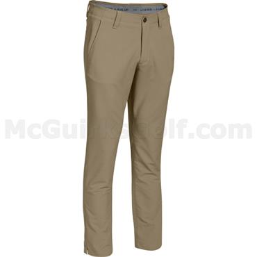 Under Armour Gents Match Play Golf -Tapered Trousers Canvas