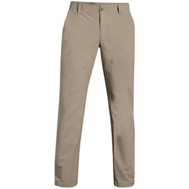 Under Armour Gents Match Play Golf -Tapered Trousers Khaki