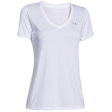Under Armour Ladies Tech Top White