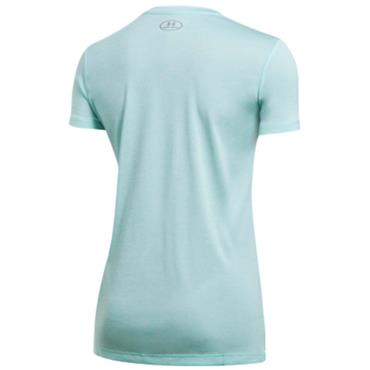 Under Armour Ladies Twist Tech V-Neck Top Blue