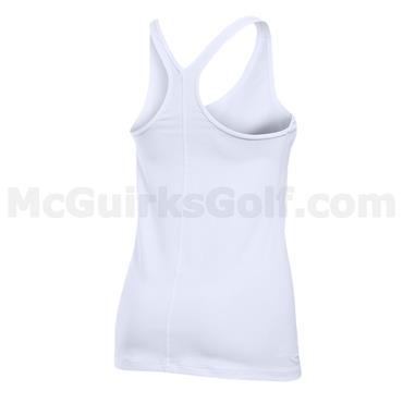 Under Armour Gym Ladies Racer Tank White