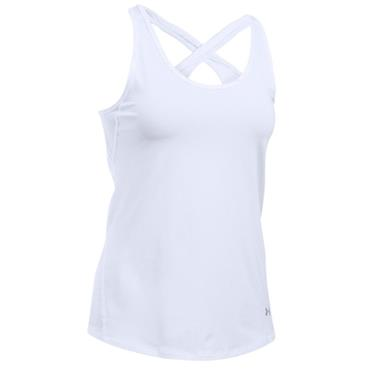 Under Armour Ladies Coolswitch Tank White