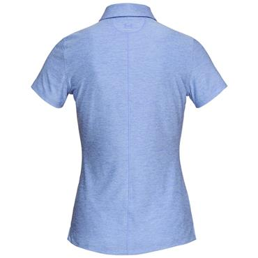 Under Armour Ladies Zinger Polo Shirt Blue