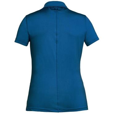 Under Armour Ladies Zinger Polo Shirt Blue