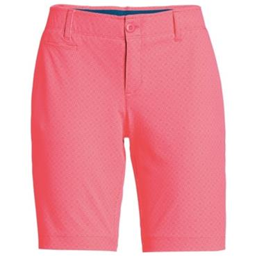 Under Armour Ladies Links Shorts Coral