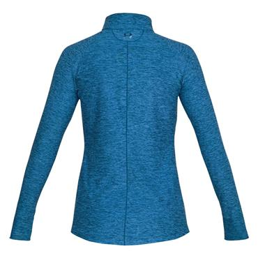 Under Armour Ladies Zinger 1/4 Zip Top Moroccan Blue